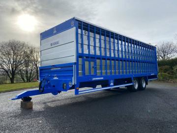 Hogg Engineering 26ft Livestock Trailer