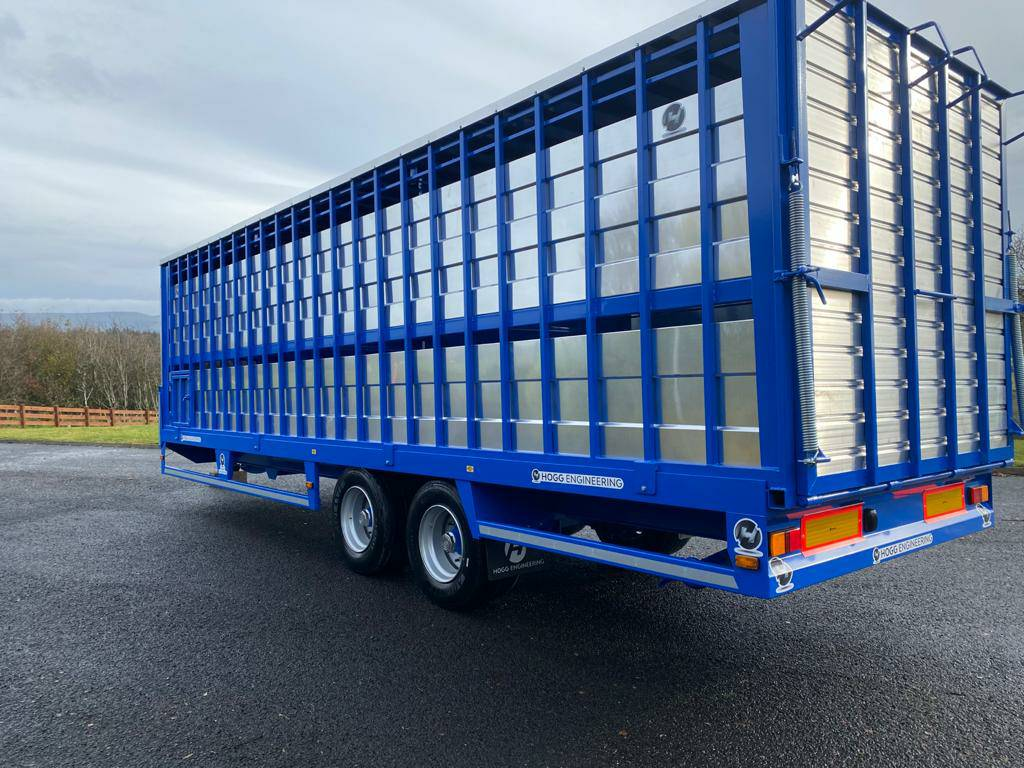 Hogg Engineering 26ft Livestock Trailer