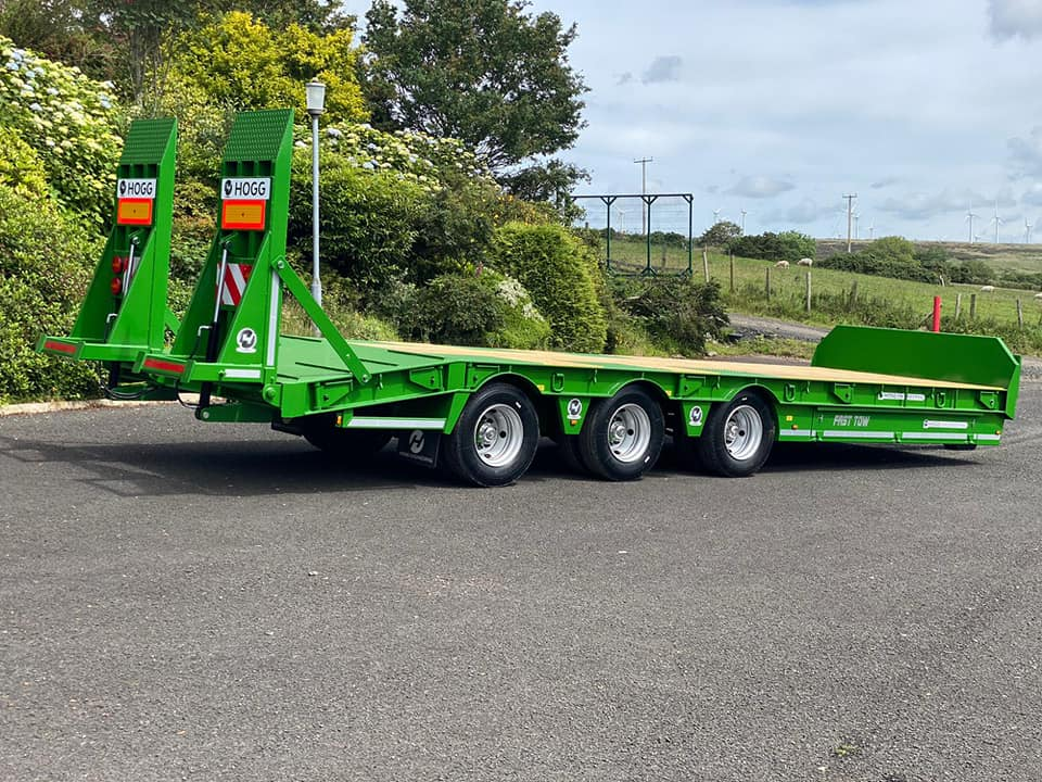 Hogg Engineering 33T Tri-Axle Low Loader Trailer
