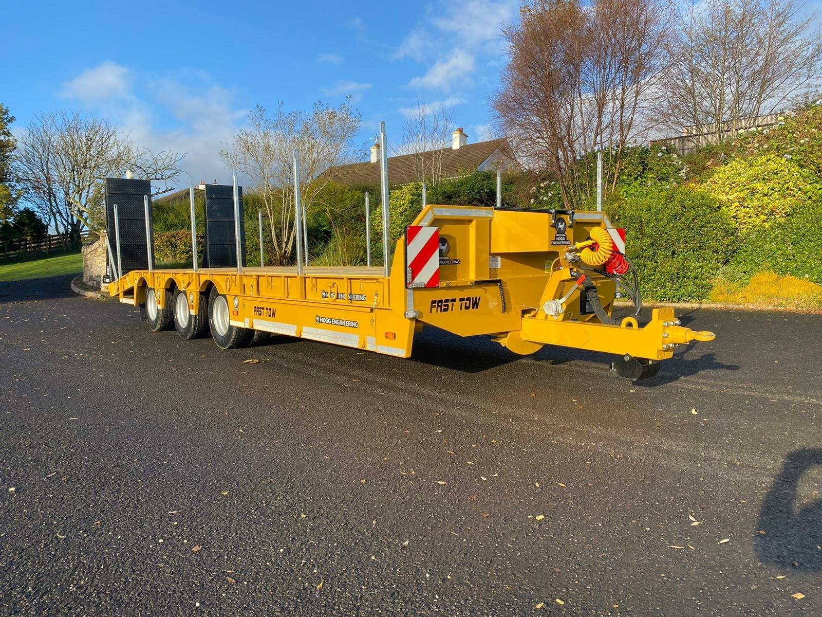 Hogg Engineering 30T Tri-Axle Low Loader Trailer