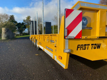 Hogg Engineering 27T Tri-Axle Low Loader Trailer