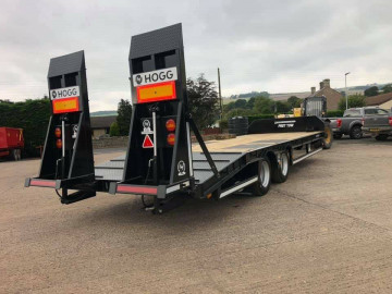 Hogg Engineering 19T Maxi Low Loader Trailer