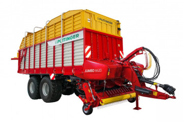 PÖTTINGER JUMBO 6620 L COMBILINE Combined Rotor Loader Wagon