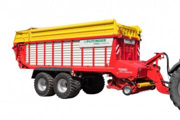 PÖTTINGER TORRO 6510 L COMBILINE Combined Rotor Loader Wagon