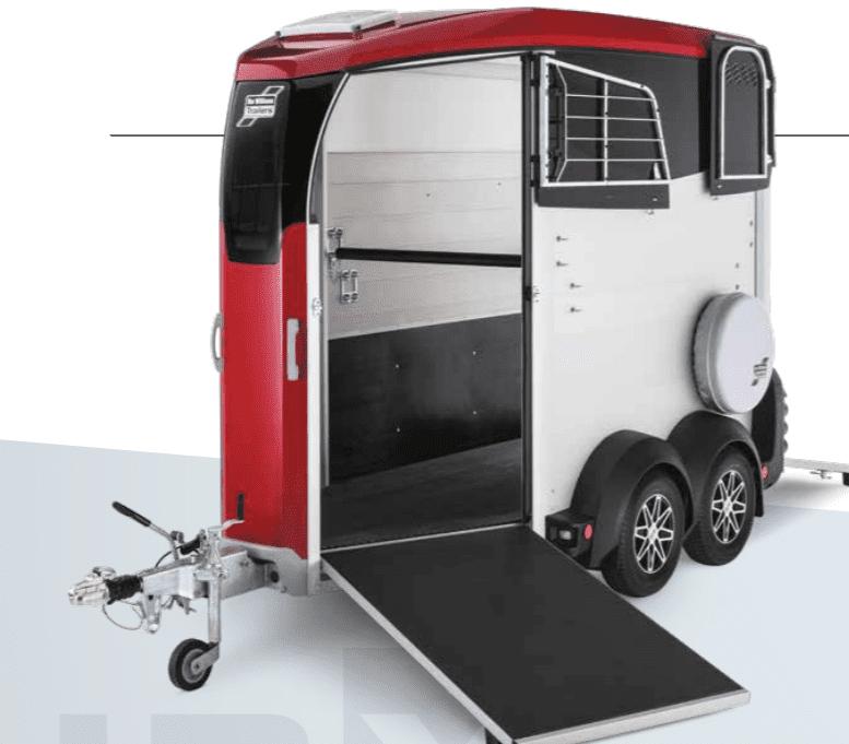 Ifor Williams HBX403 Single Horsebox Trailer