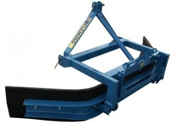 Fleming Agri Galvanised Standard All Rubber Scraper