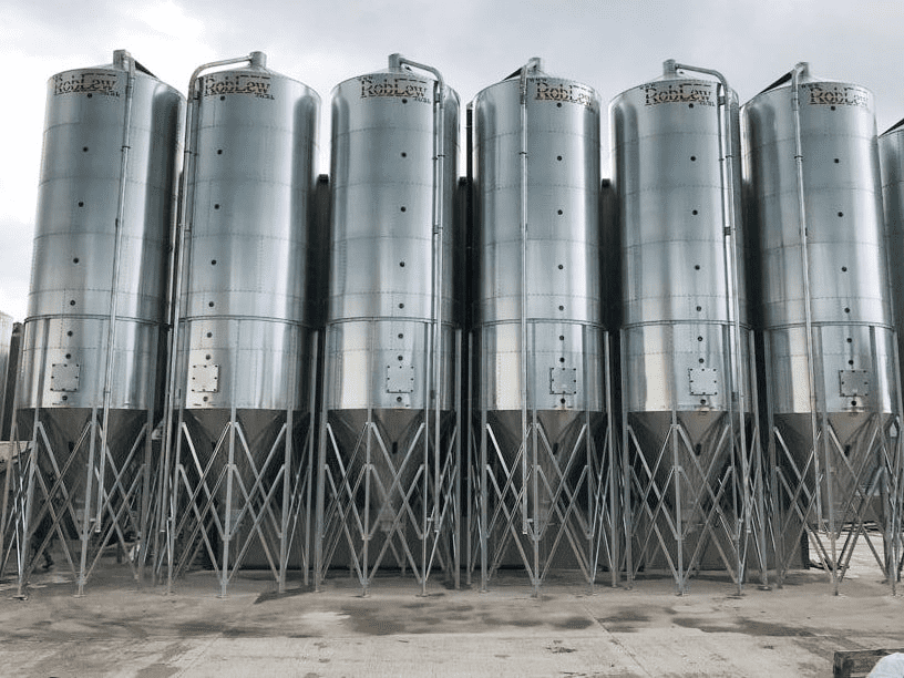 RobLew 3.5 Tonne Single Legged Silo