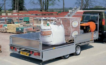 Ifor Williams 18ft  LM186T Flatbed Trailer