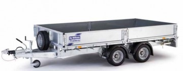 Ifor Williams 18ft LM186 Flatbed Trailer