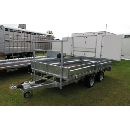 Indespension 10ft FTL27105 Flatbed Trailer