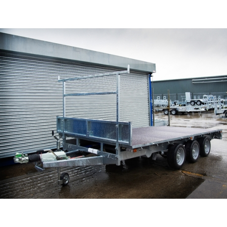 Indespension 14ft FTL35146 Tri Axle Flatbed Trailer