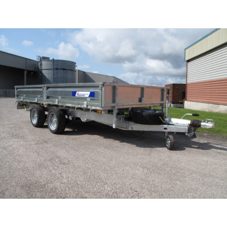 Indespension 12ft FTL35126 Flatbed Trailer