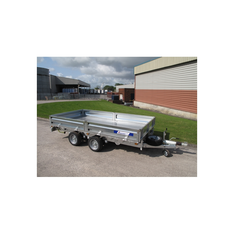 Indespension 10ft FTL35106 Flatbed Trailer