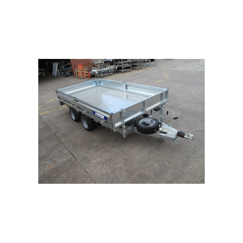 Indespension 14ft FTL35146 Flatbed Trailer