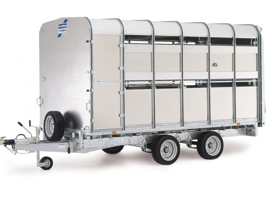 Ifor Williams TA510 14x6 H/R Livestock Trailer