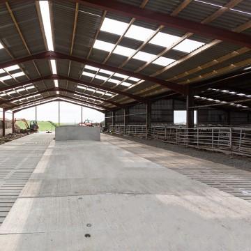Creagh Concrete 2700mm Cattle Single 6 Rib Slats