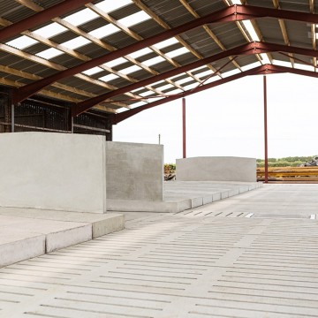 Creagh Concrete 2600mm Cattle Single 6 Rib Slats