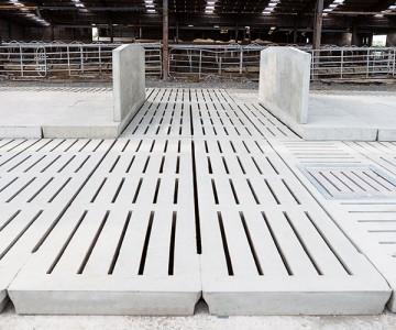 Creagh Concrete 2500mm Cattle 6 Rib Slats