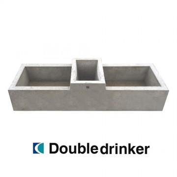 Creagh Concrete 114L Double Drinker Troughs
