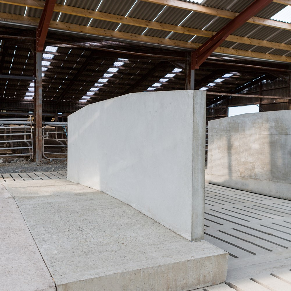 Creagh Concrete 4300mm Head to Head Cow Cubicle