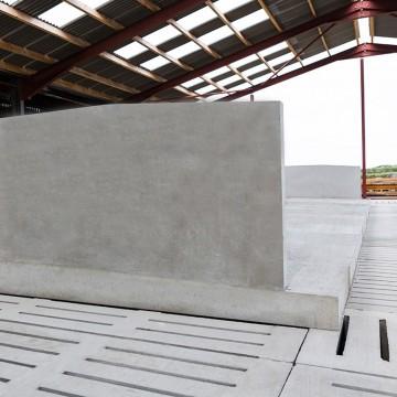 Creagh Concrete 4100mm Head to Head Cow Cubicle