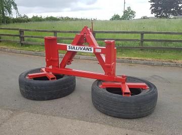 Sullivans Engineering Twin Wheel Silage Pusher