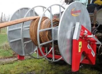Sullivans Engineering 800mtr Back Mounted Hose Reeler