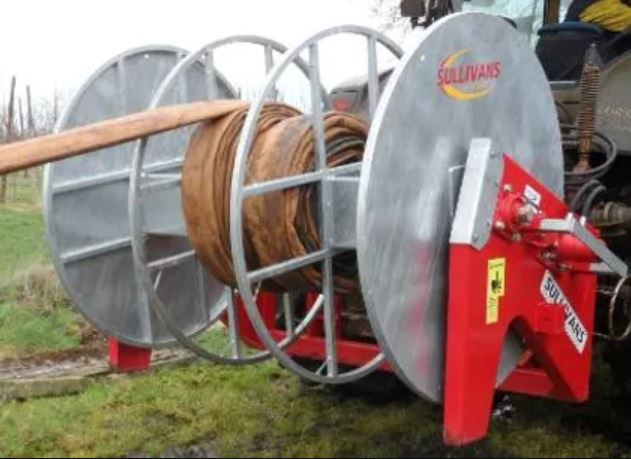 Sullivans Engineering 600mtr Back Mounted Hose Reeler