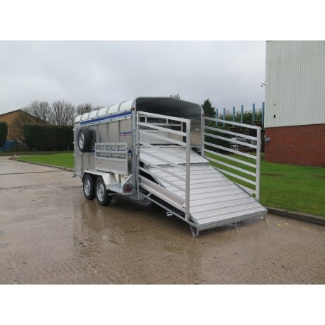 Indespension 12ft x 6ft Twin Axle Livestock Trailer