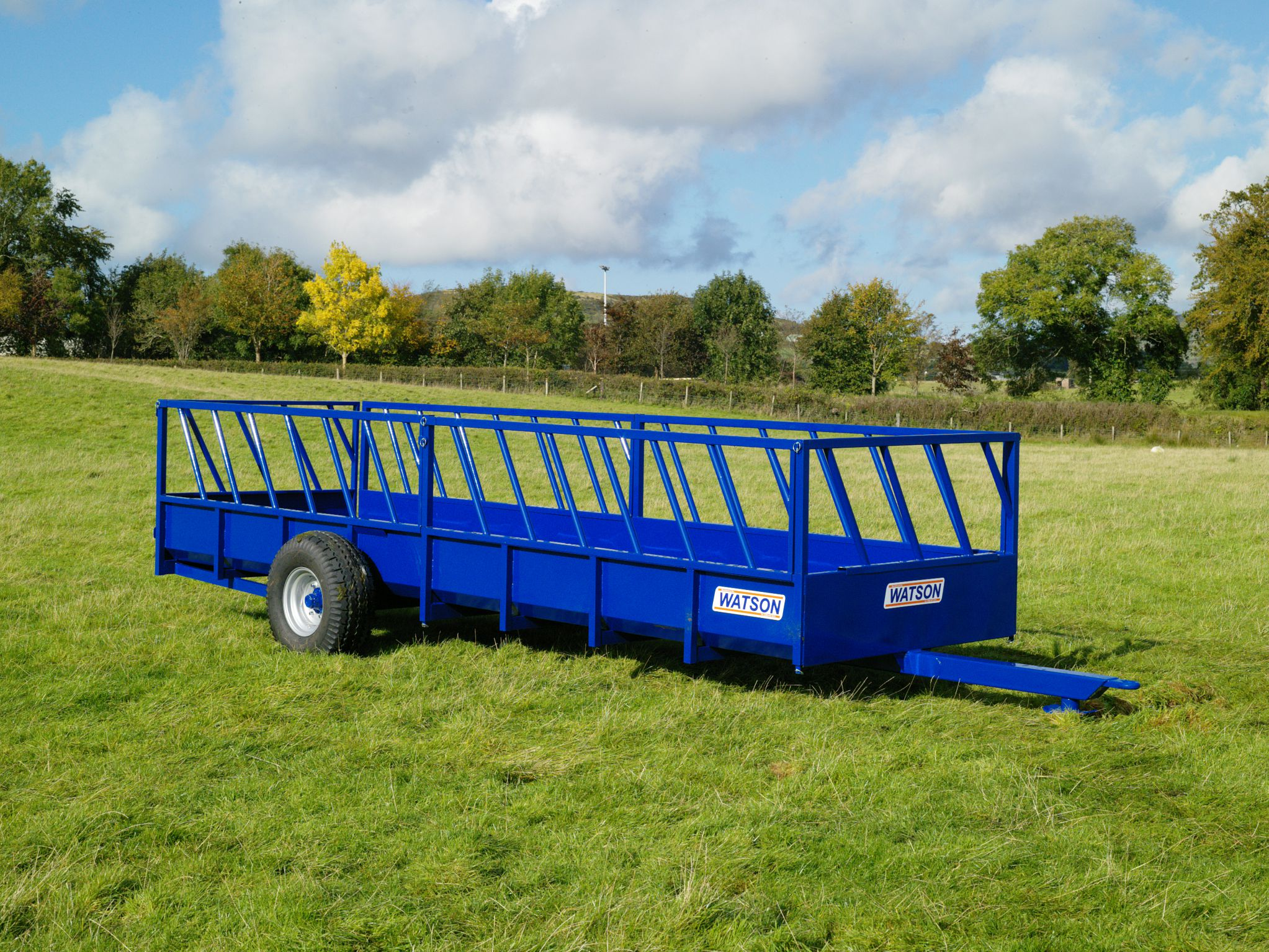 Walter Watson 20ft x 6ft Feeding Trailer