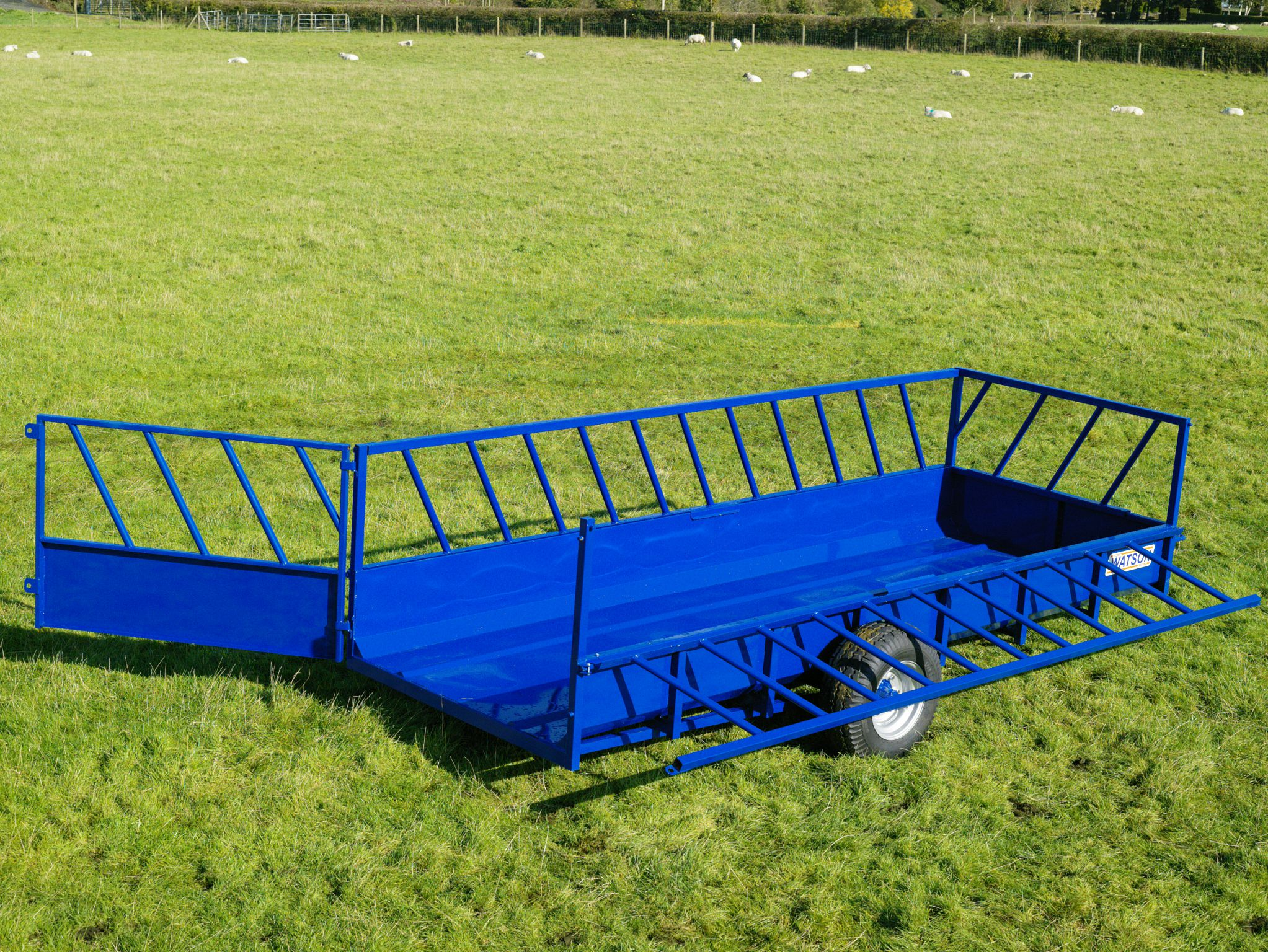 Walter Watson 20ft x 5ft Feeding Trailer