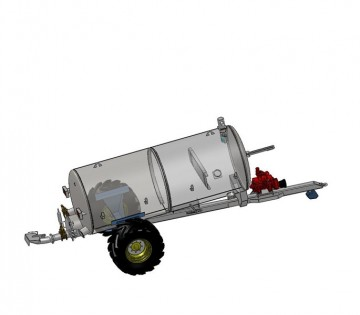 Fleming Agri 1100G Non-Recessed Tanker