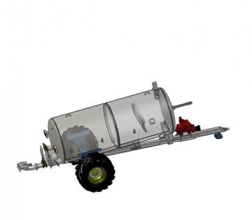 Fleming Agri 1300G Non-Recessed Tanker