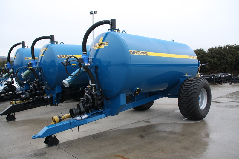 Fleming Agri 1300G Non-Recessed Tanker