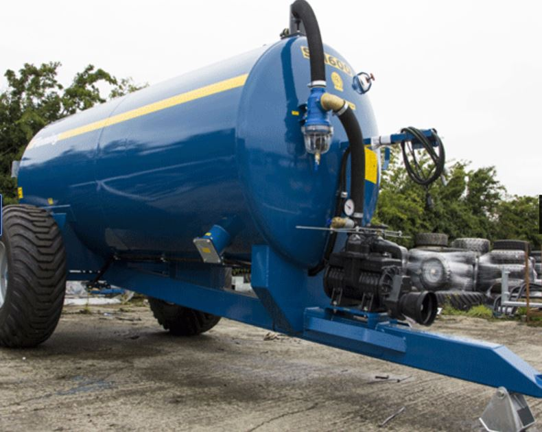 Fleming Agri 1600G Non-Recessed Tanker