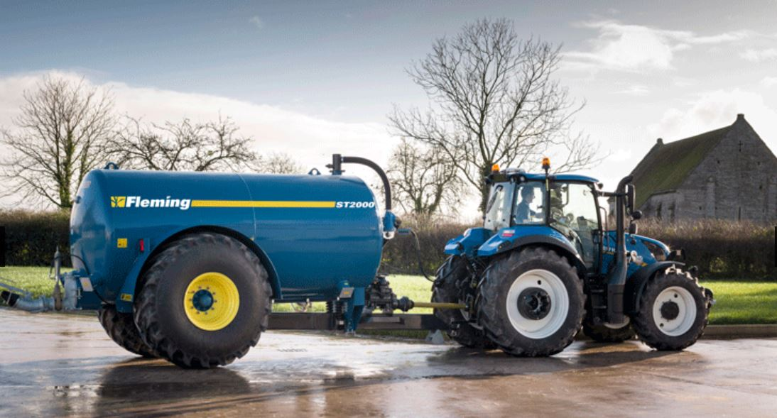 Fleming Agri 1600G Recessed Tanker