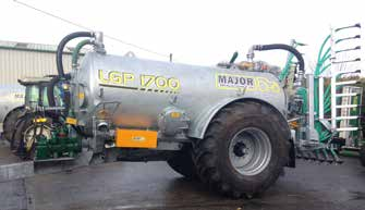 Major Agri Slurry Tanker 1700AG-LGP (MA1700AG-LGP)