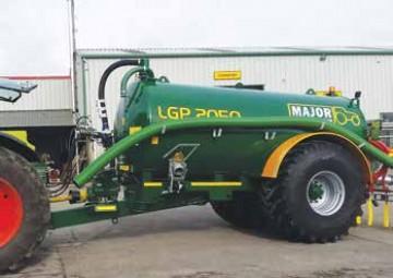 Major Contractor LGP Slurry Tanker 2050G (MA2050LGP)