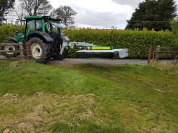 Major 900SM-HD Side Mounted Grass Topper