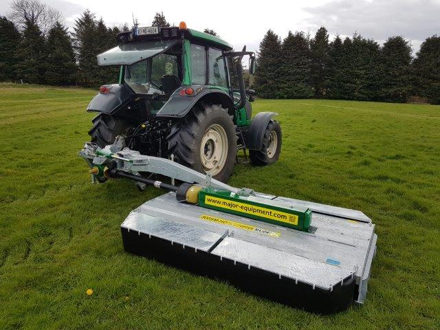 Major 800SM-HD Side Mounted Grass Topper
