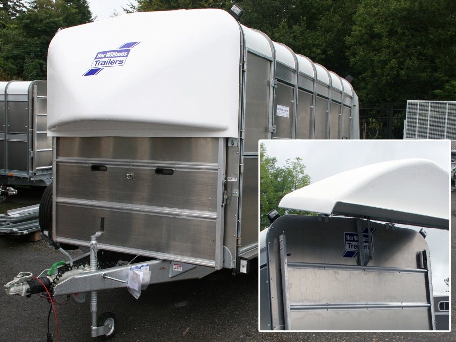 Ifor Williams TA510 10x6 H/R Livestock Trailer