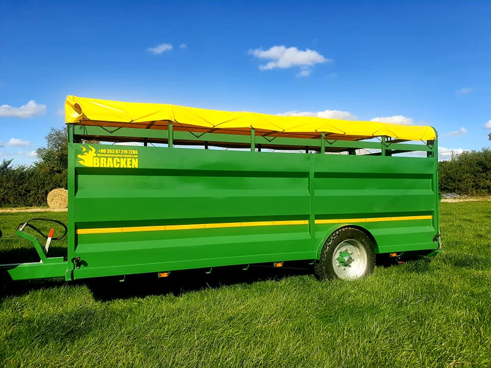 Bracken 14ft Low Cattle Trailer