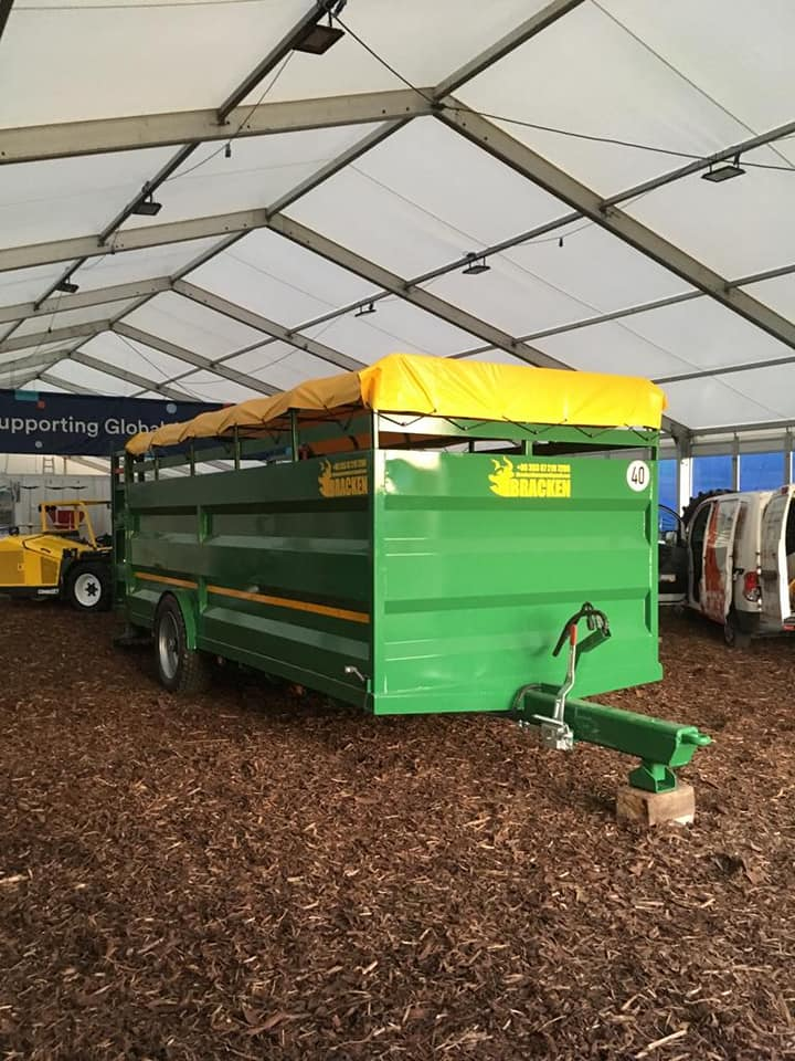 Bracken 17ft Low Cattle Trailer