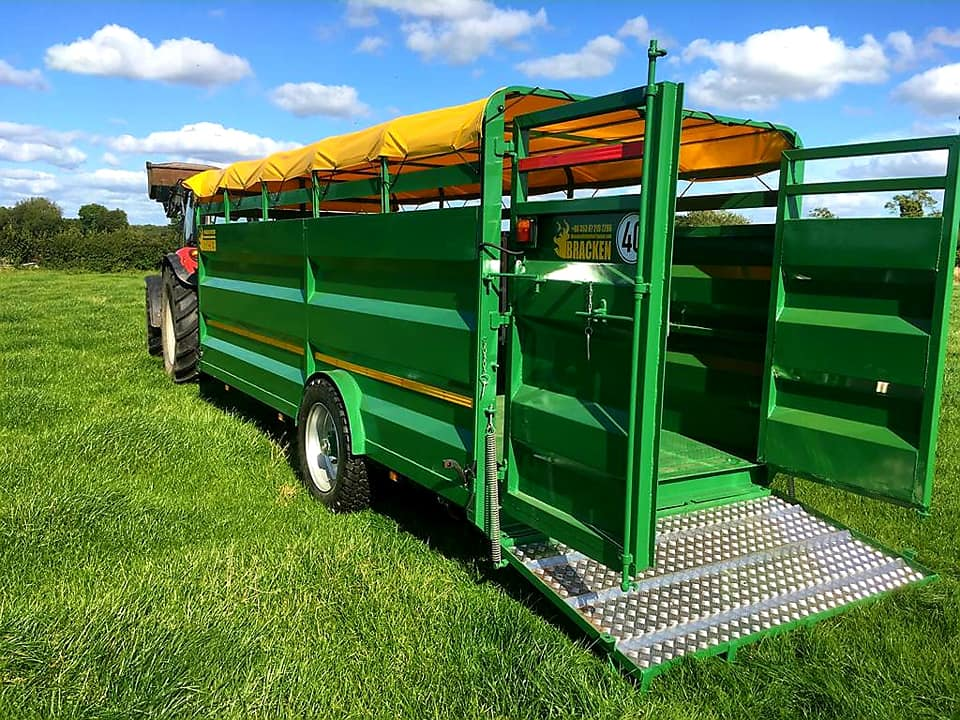 Bracken 18ft Low Cattle Trailer