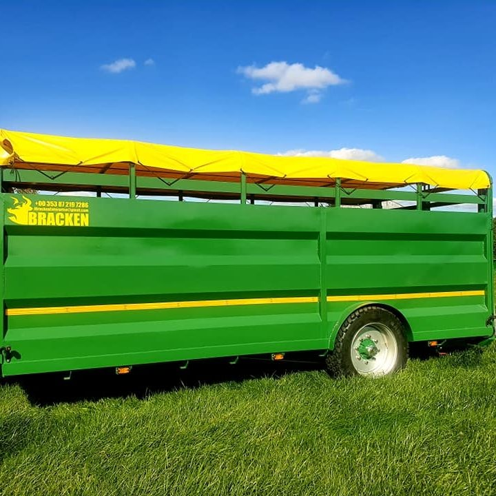 Bracken 19ft Low Cattle Trailer