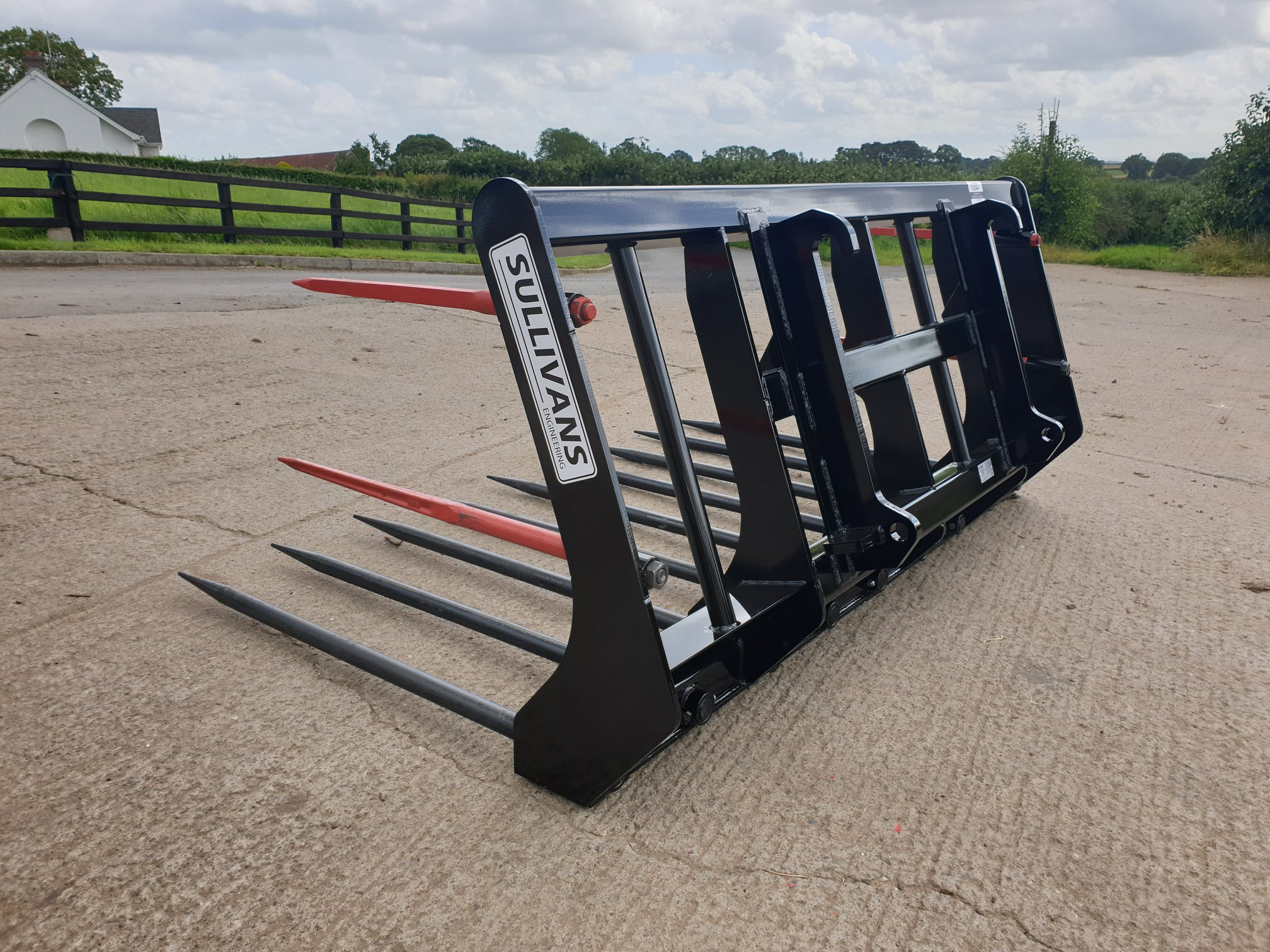 Sullivans Engineering 9ft Buckrake