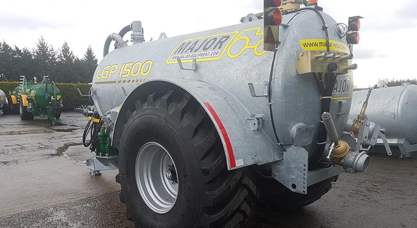 Major Agri Slurry Tanker 1500AG-LGP (MA1500AG-LGP)