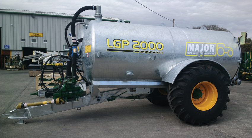 Major Agri Slurry Tanker 2000AG-LGP (MA2000AG-LGP)