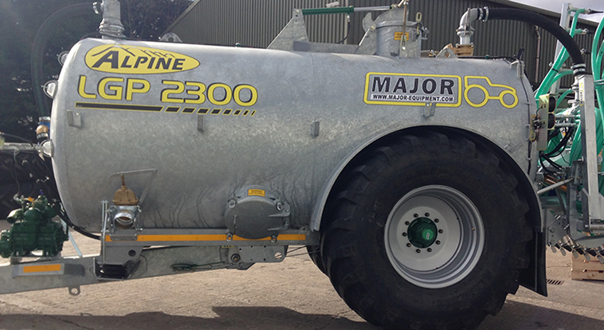 Major Contractor ALPINE LGP Slurry Tanker 2300G (MA2300ALP - LGP)