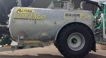 Major Contractor ALPINE LGP Slurry Tanker 2300G (MA2300ALP - LGP)